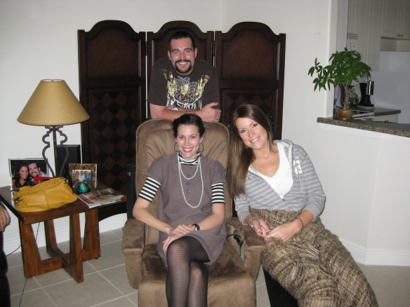 Greg, Lauren, and Lindsay Dec. 2008