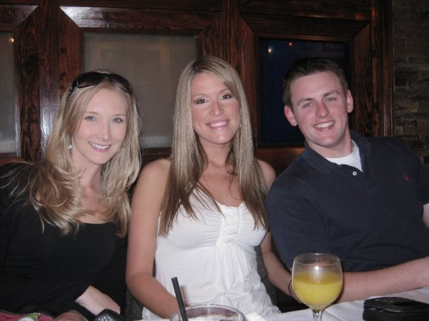 my niece, Leigh, Lindsay, & her fiance, Andrew